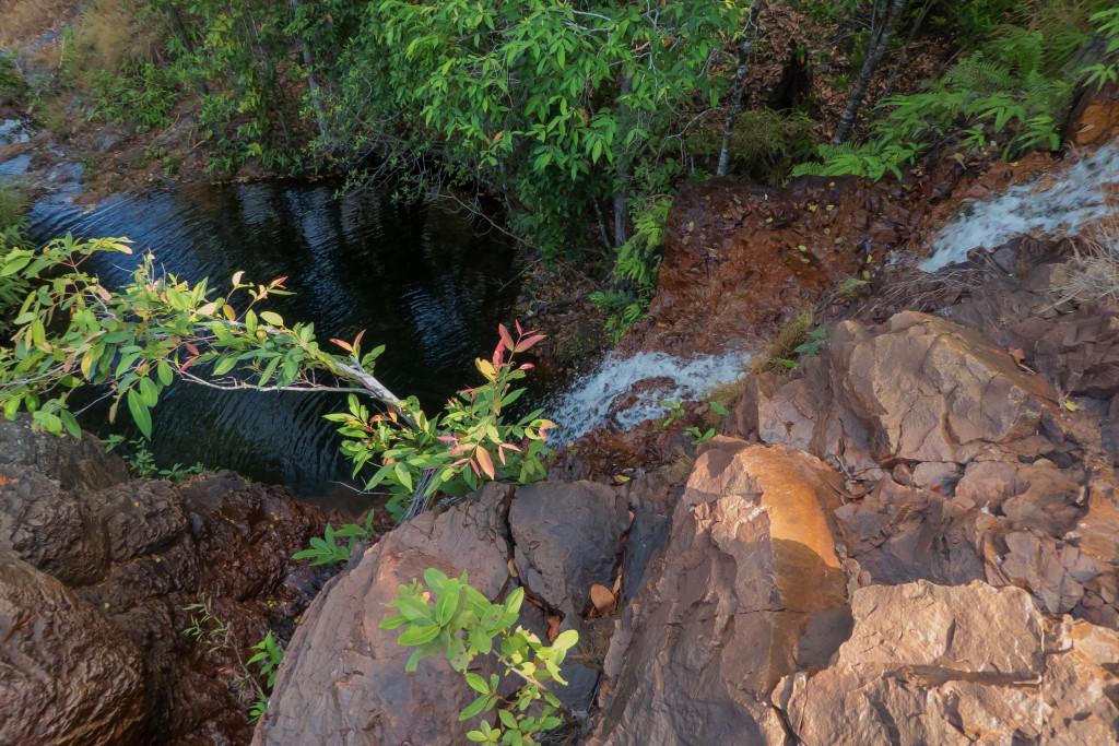 down the waterfallLR